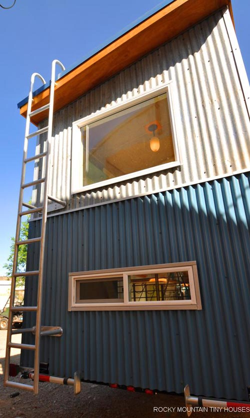 Corrugated Metal - Tandy by Rocky Mountain Tiny Houses
