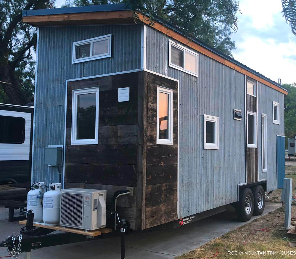 Reclaimed Materials - Tandy by Rocky Mountain Tiny Houses