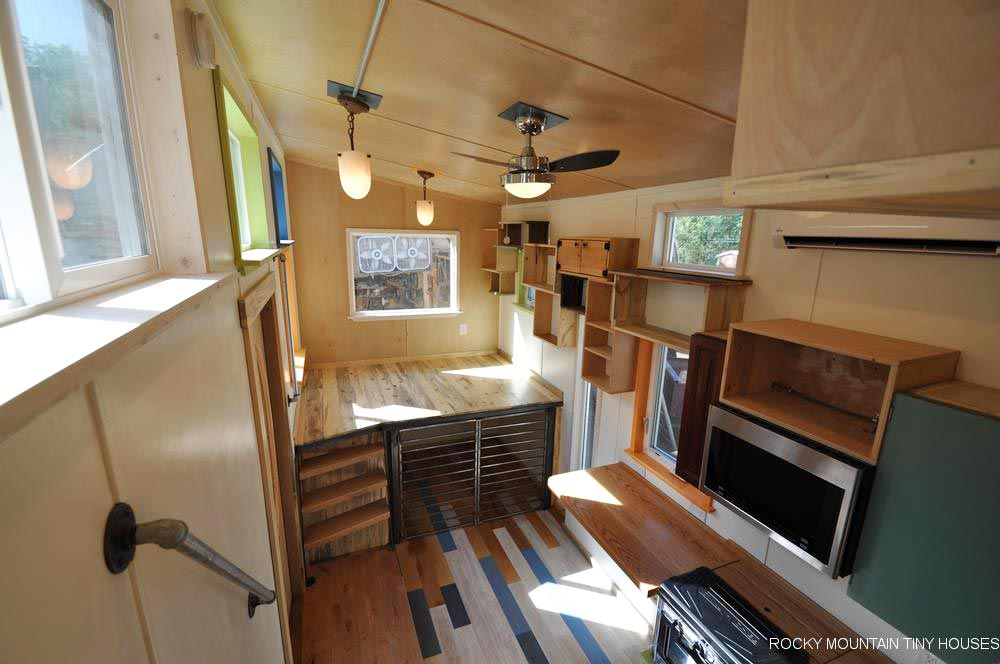 Inverted Loft - Tandy by Rocky Mountain Tiny Houses