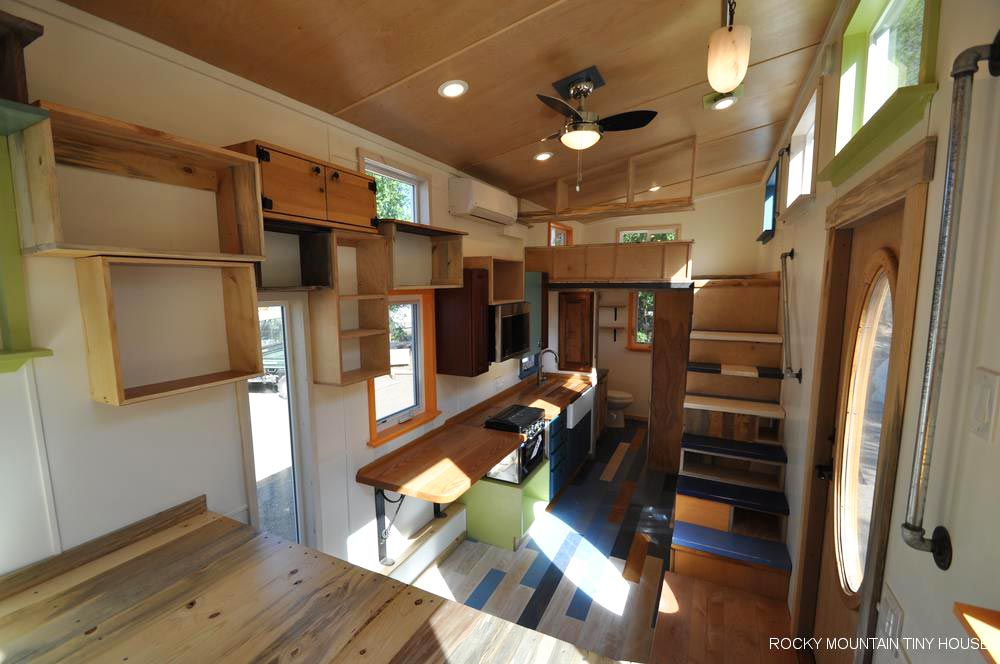 Tiny House Interior - Tandy by Rocky Mountain Tiny Houses