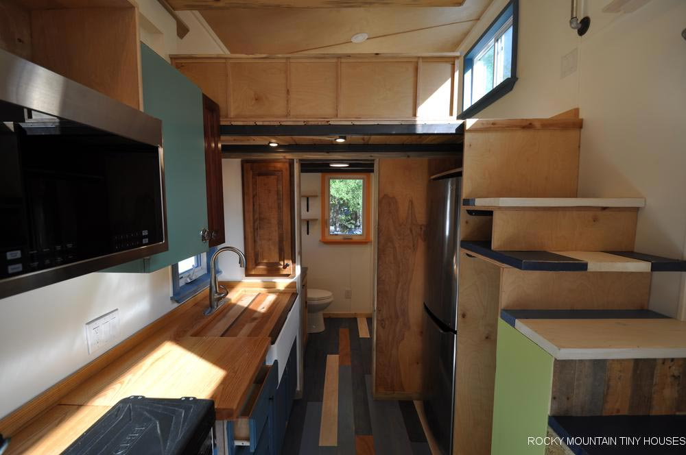 Kitchen - Tandy by Rocky Mountain Tiny Houses