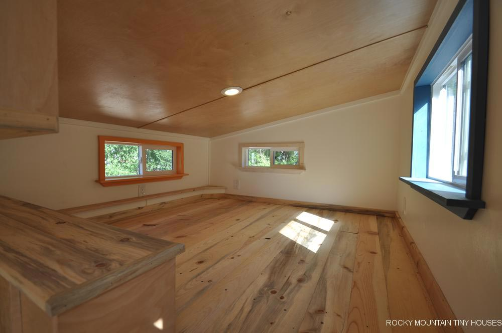 Bedroom Loft - Tandy by Rocky Mountain Tiny Houses