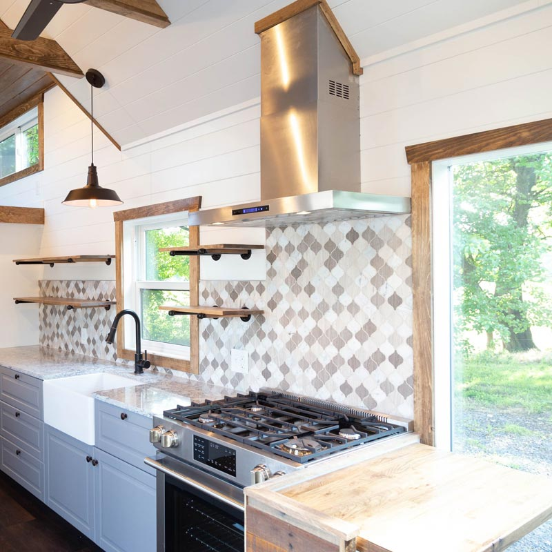Kitchen - Tedesco by Liberation Tiny Homes