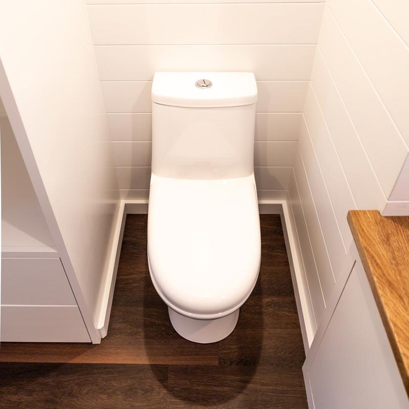 Flush Toilet - Tedesco by Liberation Tiny Homes
