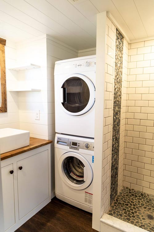 Stackable Washer/Dryer - Tedesco by Liberation Tiny Homes