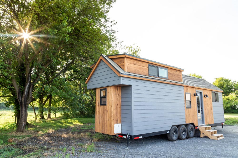 Wood Accents - Tedesco by Liberation Tiny Homes