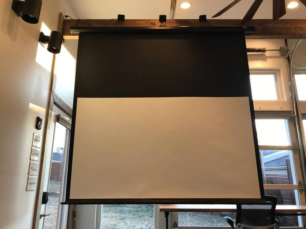 Projector Screen - Urban Chalet