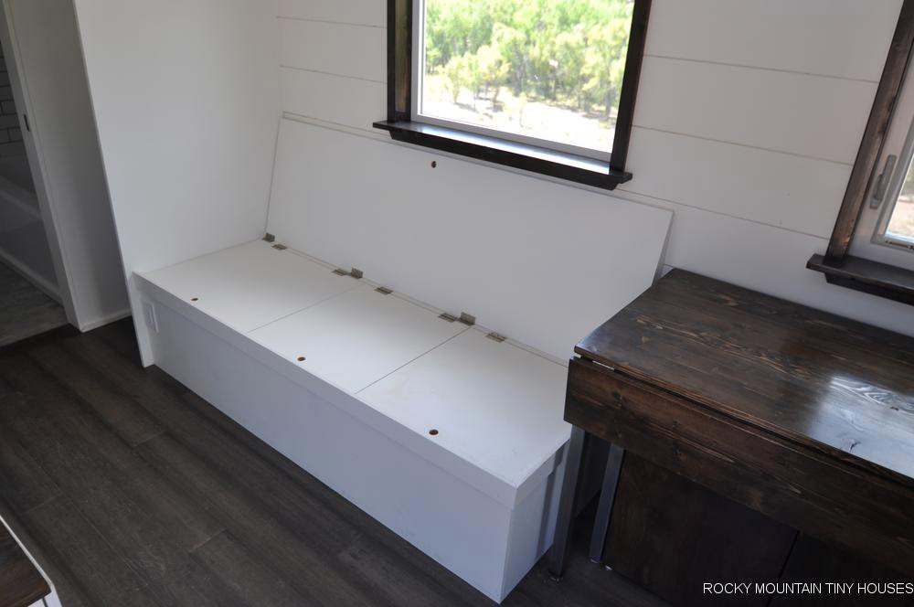 Custom Bench Seat - Ad Astra by Rocky Mountain Tiny Houses