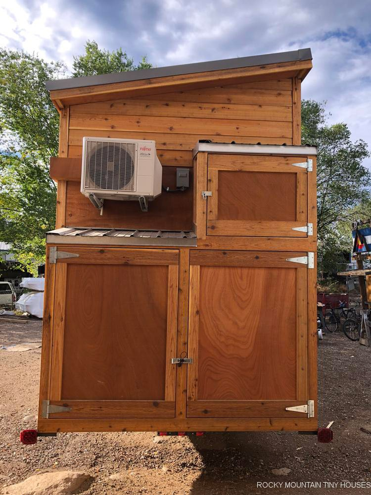 Outside Storage - Ad Astra by Rocky Mountain Tiny Houses
