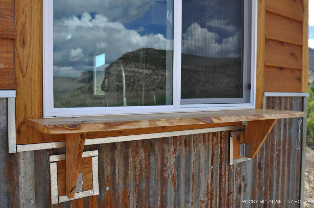 Serving Window - Ad Astra by Rocky Mountain Tiny Houses