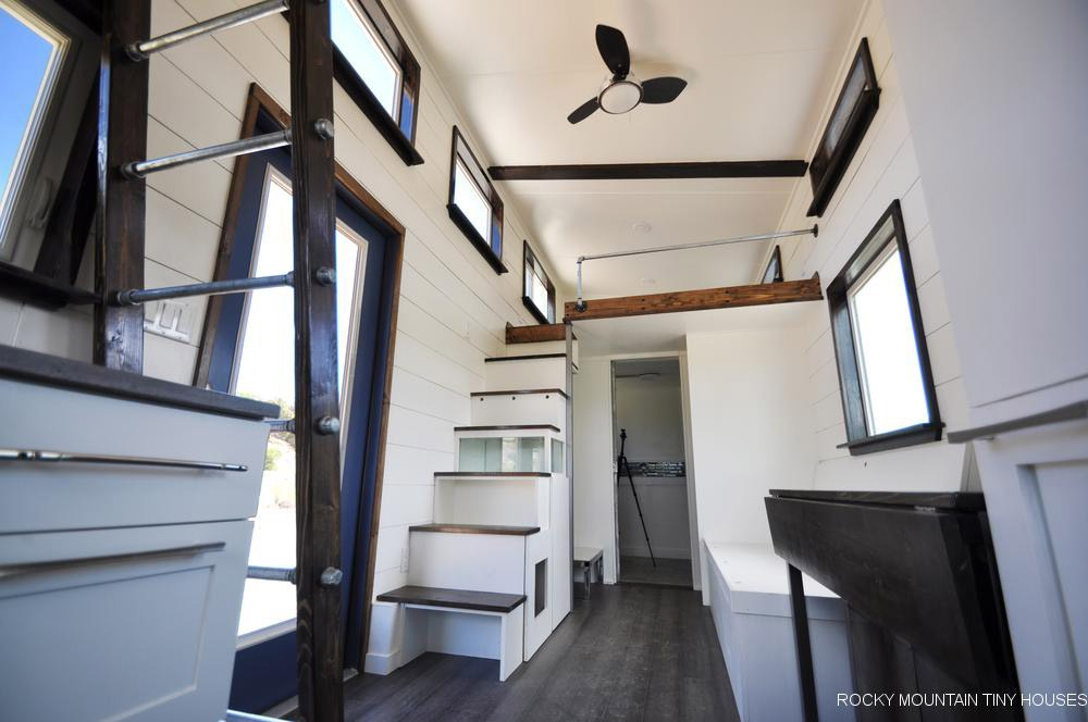 Tiny House Interior - Ad Astra by Rocky Mountain Tiny Houses