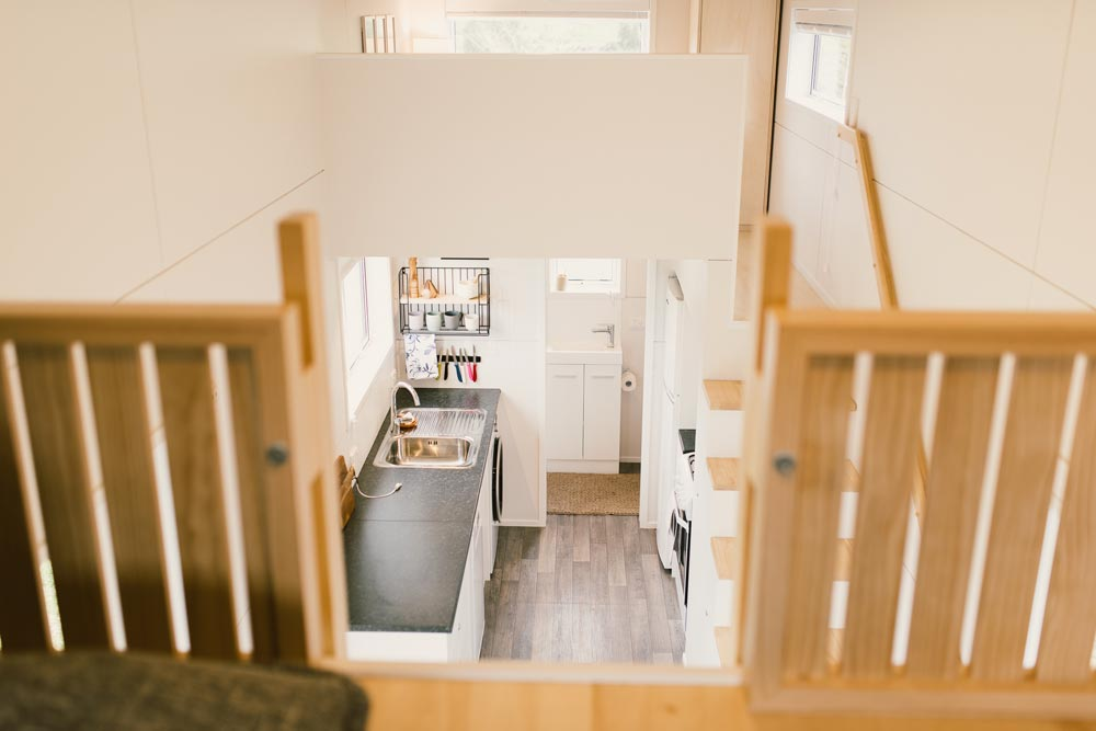 View From Loft - Archer Tiny House by Build Tiny