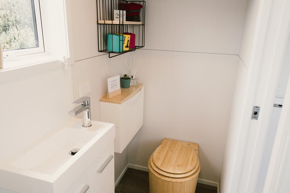 Bathroom - Archer Tiny House by Build Tiny