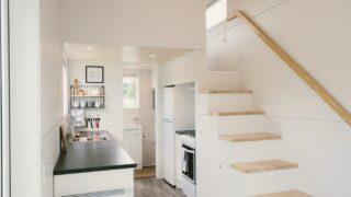 Storage Stairs - Archer Tiny House by Build Tiny
