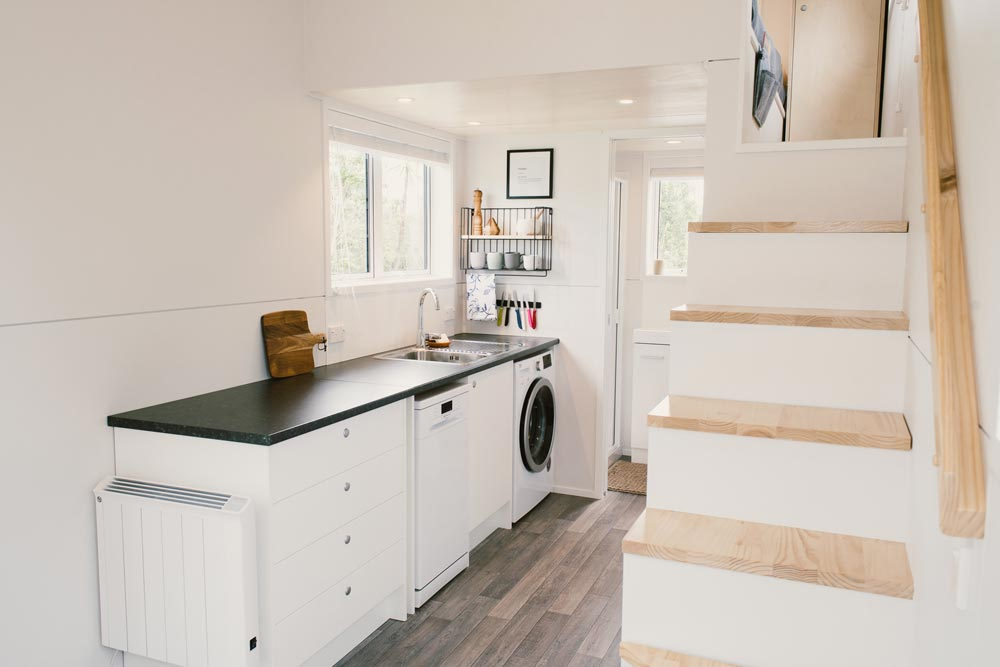 Bright Kitchen - Archer Tiny House by Build Tiny