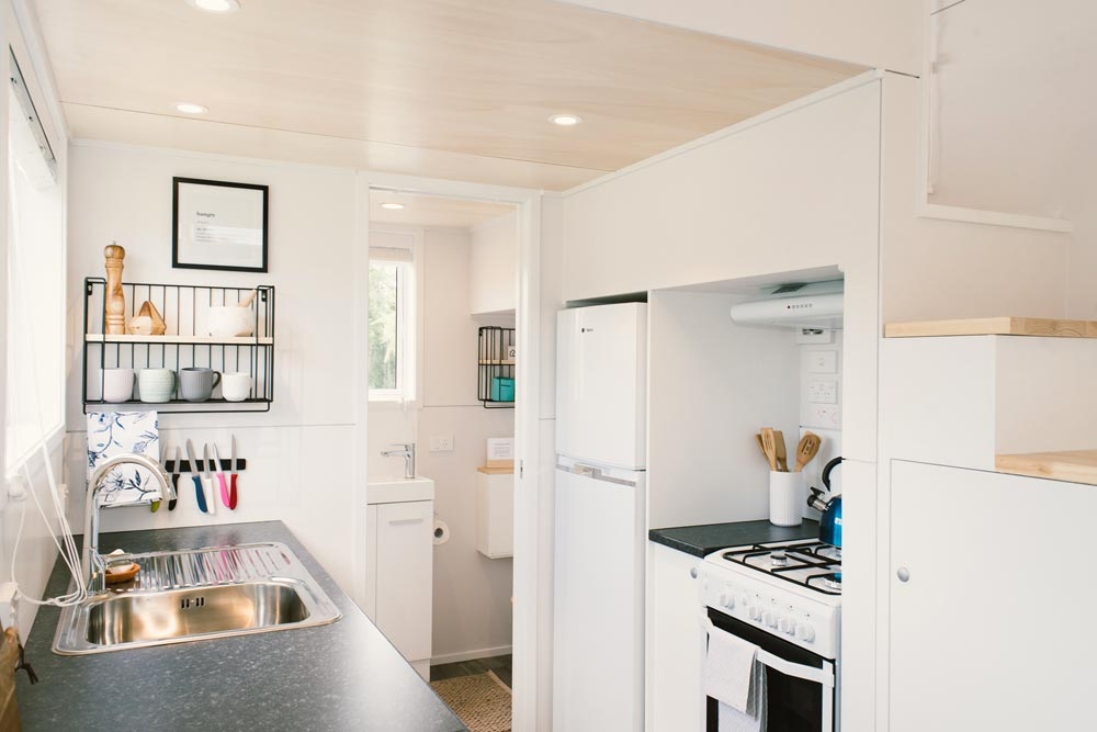 Full Size Appliances - Archer Tiny House by Build Tiny