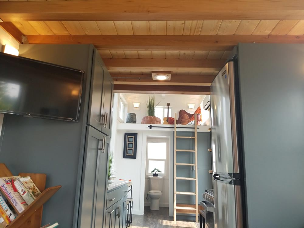 Galley Kitchen - Mt. Bachelor by Tiny Mountain Houses