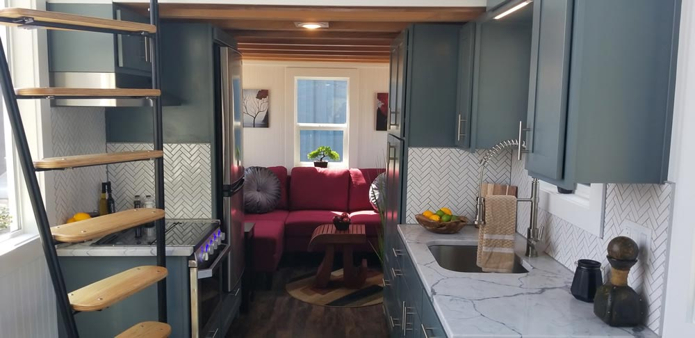 Living Room - Mt. Bachelor by Tiny Mountain Houses