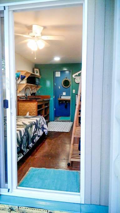 Entryway - Big Island Container Home