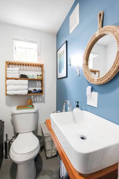 Bathroom - Big Island Container Home