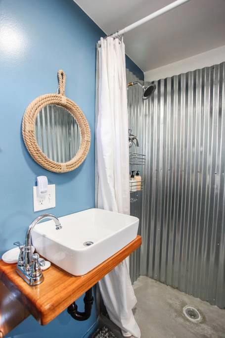 Vessel Sink - Big Island Container Home