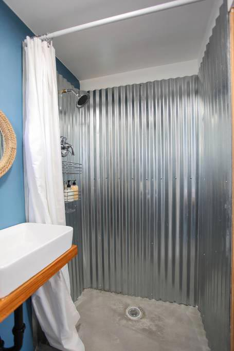 Shower Stall - Big Island Container Home