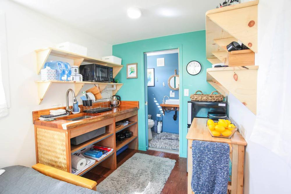 Kitchenette - Big Island Container Home