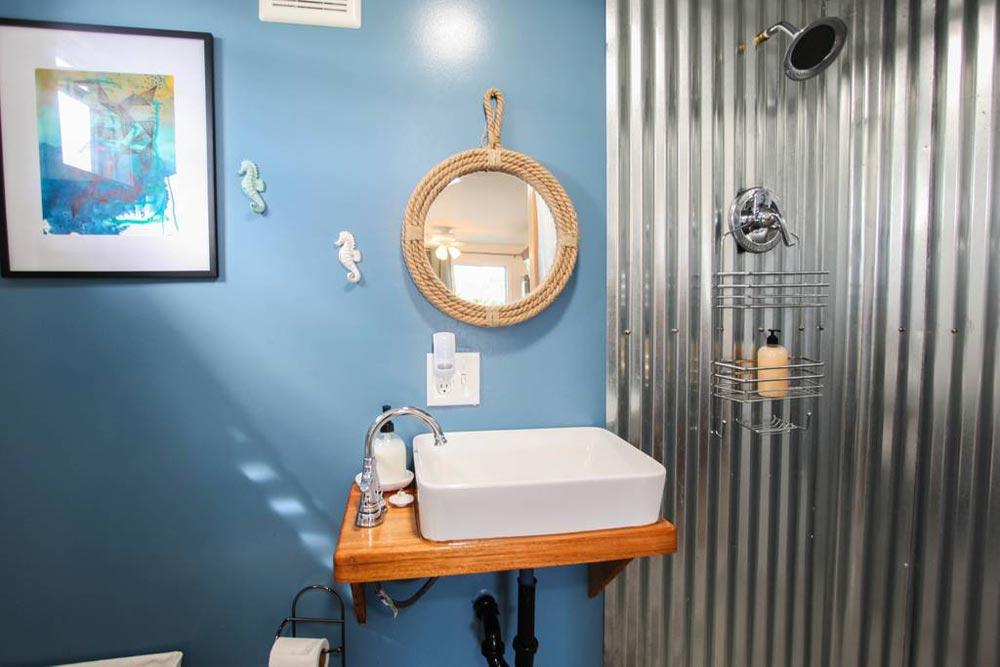 Bathroom Sink - Big Island Container Home