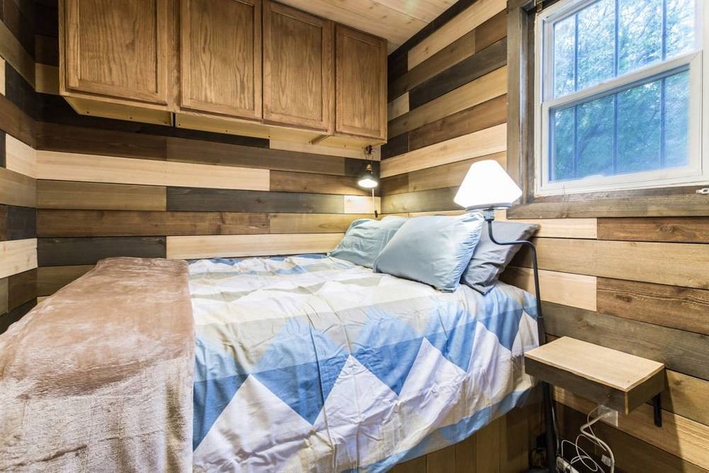 Master Bedroom - Blue Steel Tiny Container Home