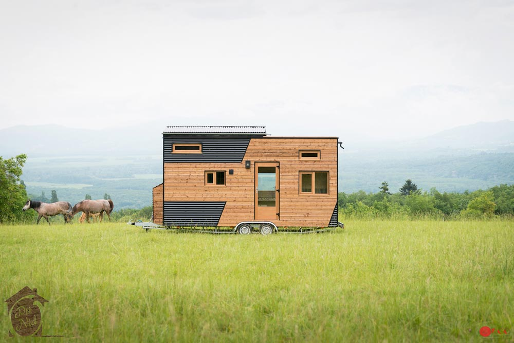 Tiny House on Wheels - Cecile by Optinid