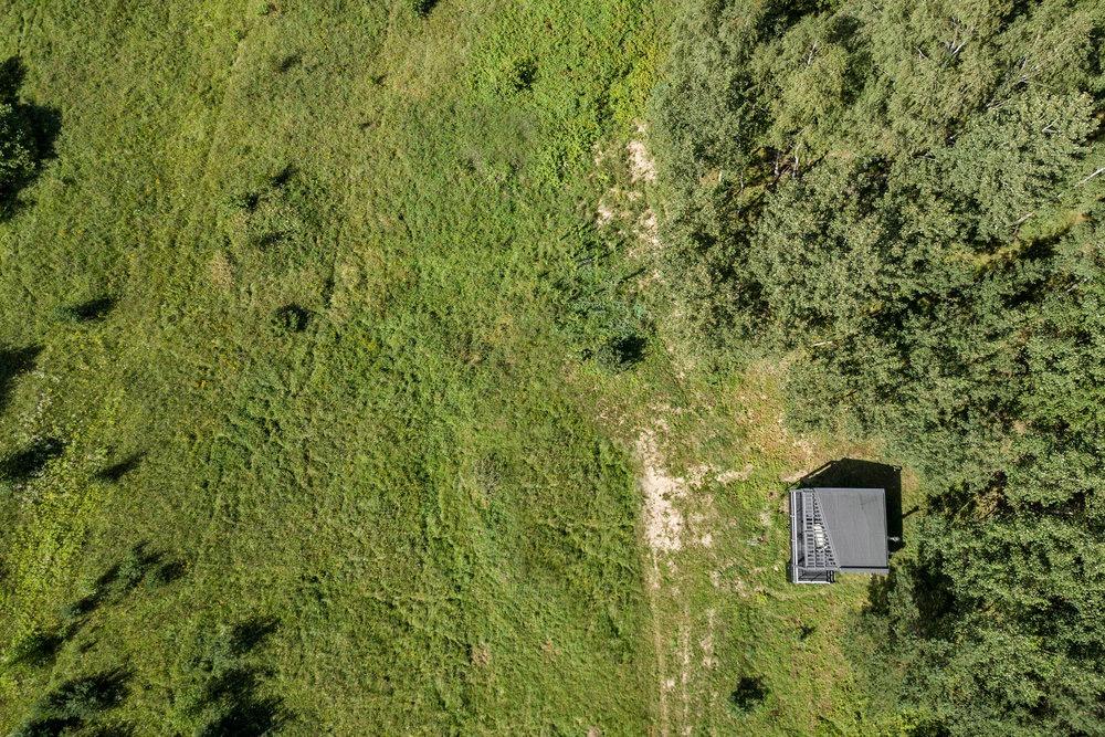 Aerial View - Etno Hut