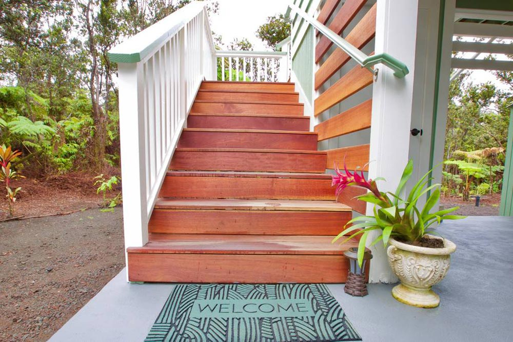 Stairs - Hawaiian Rainforest Treehouse