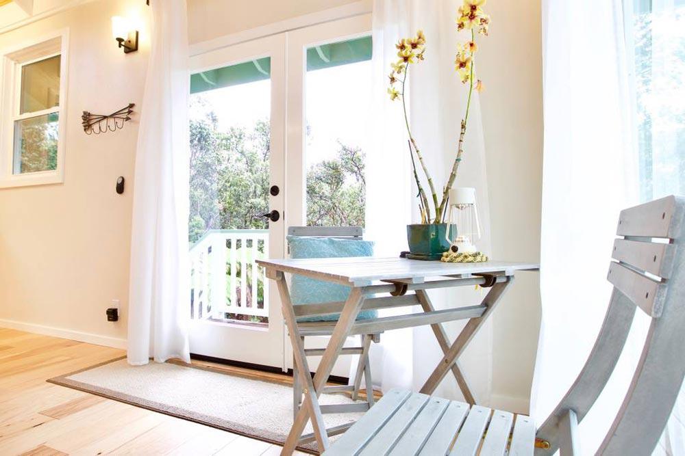 French Doors - Hawaiian Rainforest Treehouse
