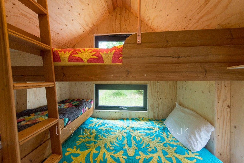 Bunkroom - NestPod by Tiny House Scotland