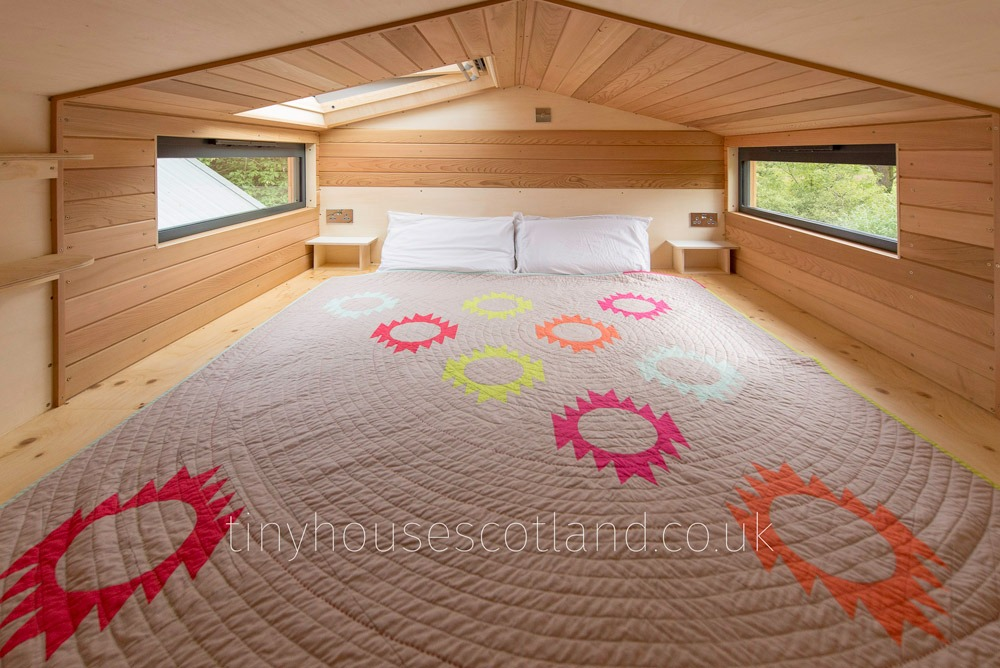Master Loft - NestPod by Tiny House Scotland