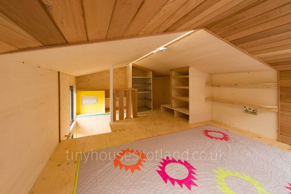 Loft Storage - NestPod by Tiny House Scotland