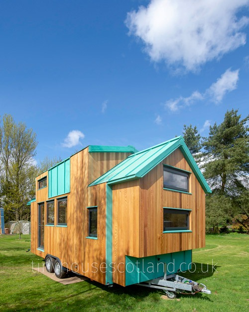 Exterior View - NestPod by Tiny House Scotland