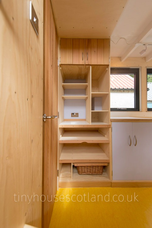 Pantry - NestPod by Tiny House Scotland