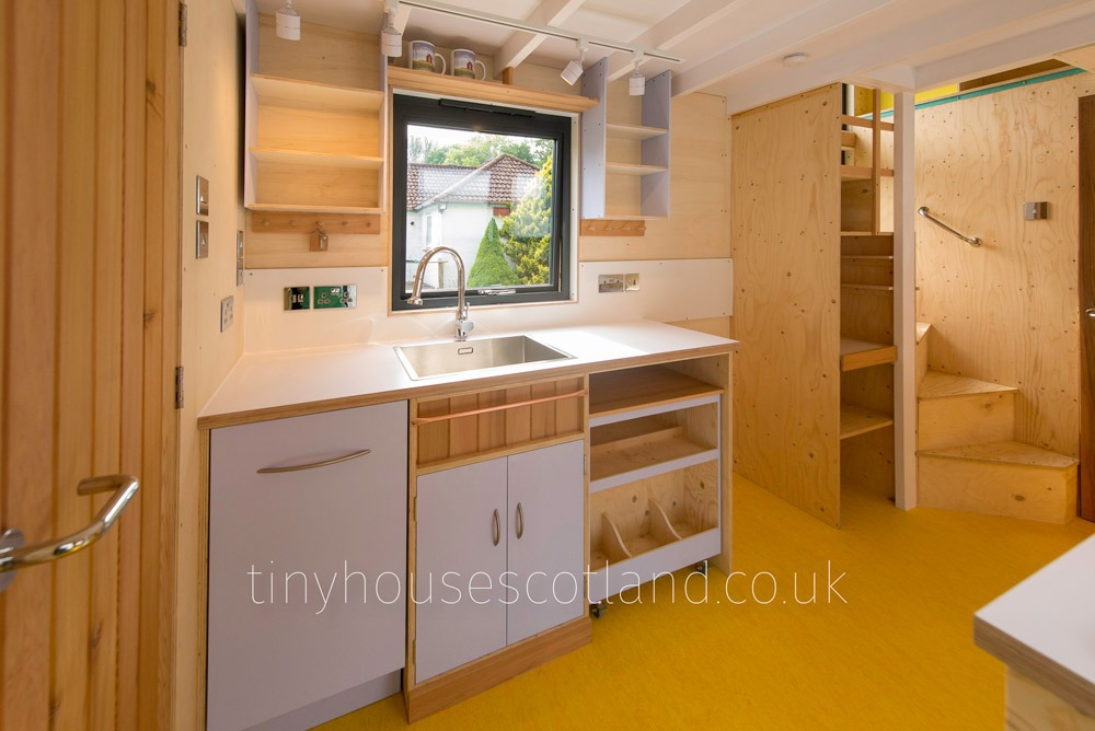 FSC Certified Wood Throughout - NestPod by Tiny House Scotland