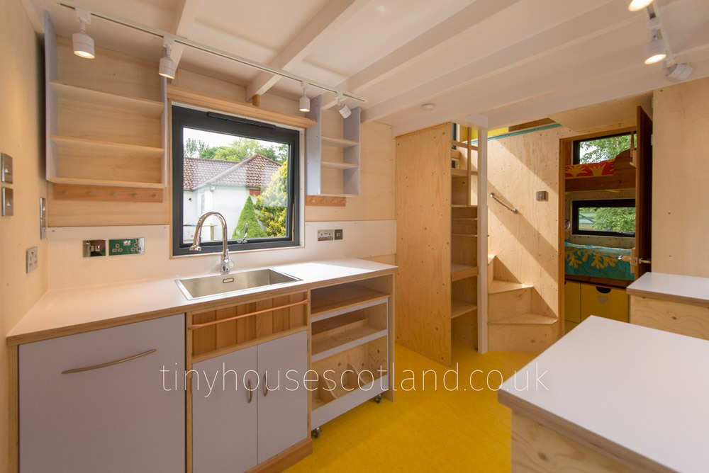 Mobile Trolley - NestPod by Tiny House Scotland