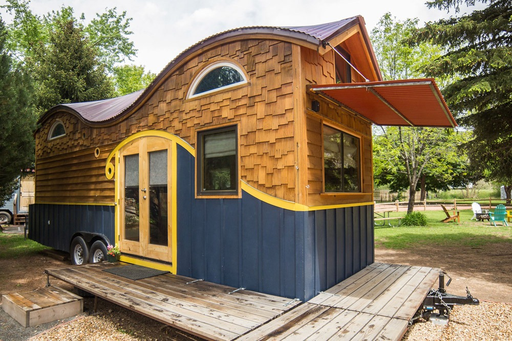 Tiny Home Designs: Pequod At WeeCasa Tiny House Resort
