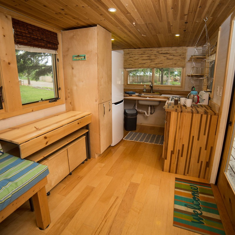Dining Table - Pequod at WeeCasa Tiny House Resort