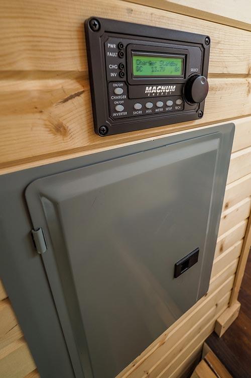 Solar Panel Controls - Raven by Blackbird Tiny Homes