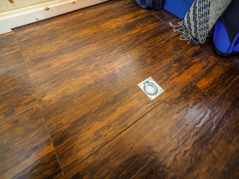 Floor Hatch - Raven by Blackbird Tiny Homes