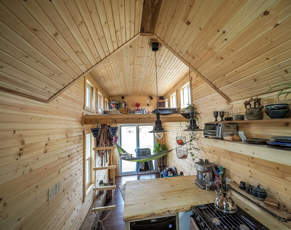 Interior View - Raven by Blackbird Tiny Homes