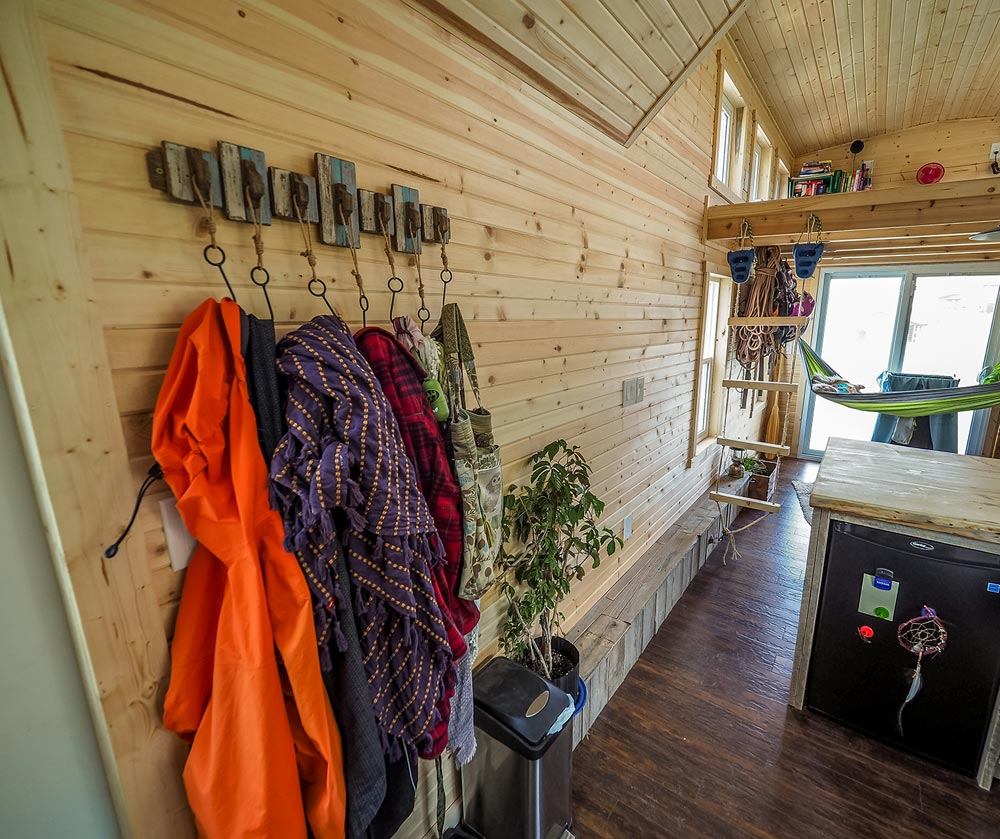 Hanging Gear - Raven by Blackbird Tiny Homes