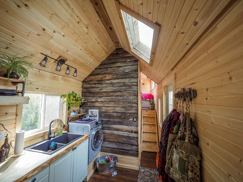 Kitchen Skylight - Raven by Blackbird Tiny Homes