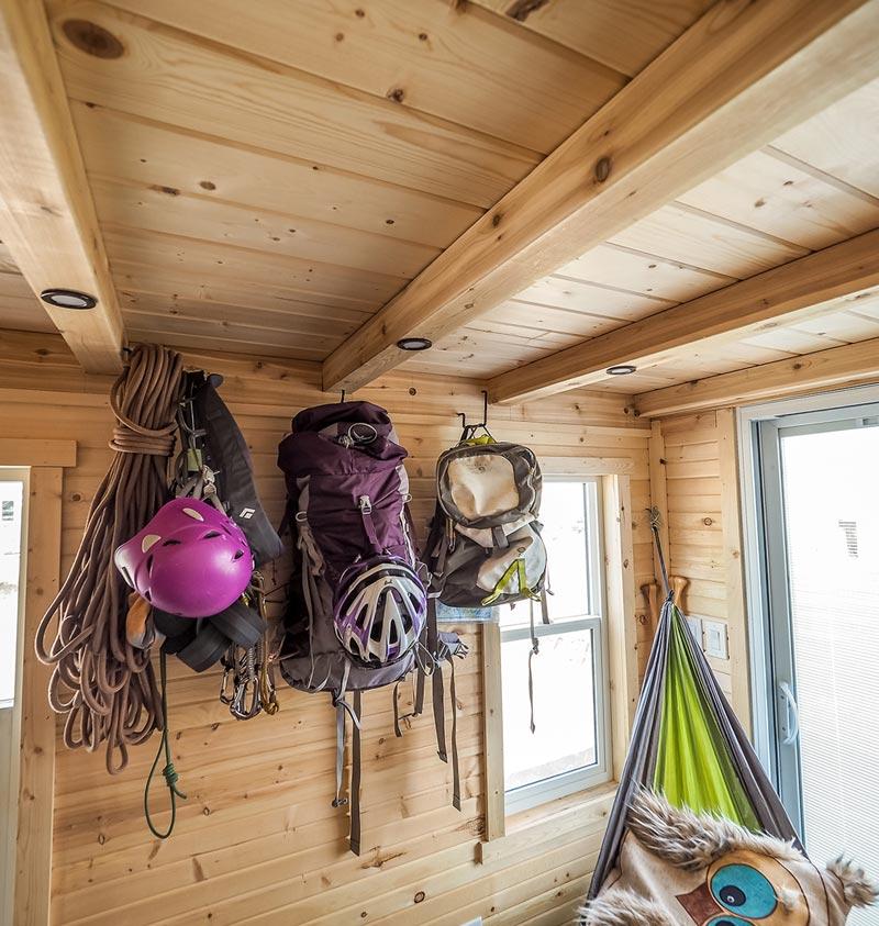 Climbing Gear - Raven by Blackbird Tiny Homes