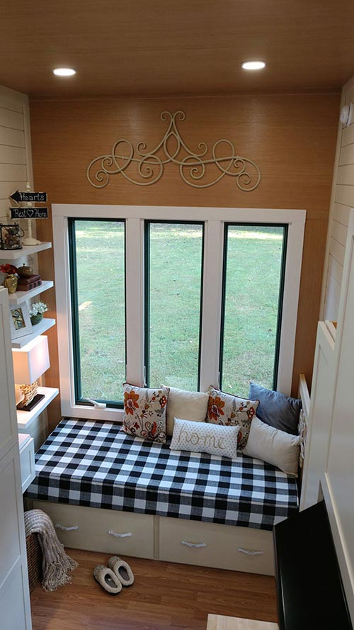 Living Room Windows - Sparrow by Blue Sky Tiny Homes