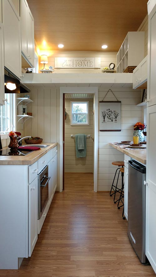 Kitchen & Bathroom - Sparrow by Blue Sky Tiny Homes